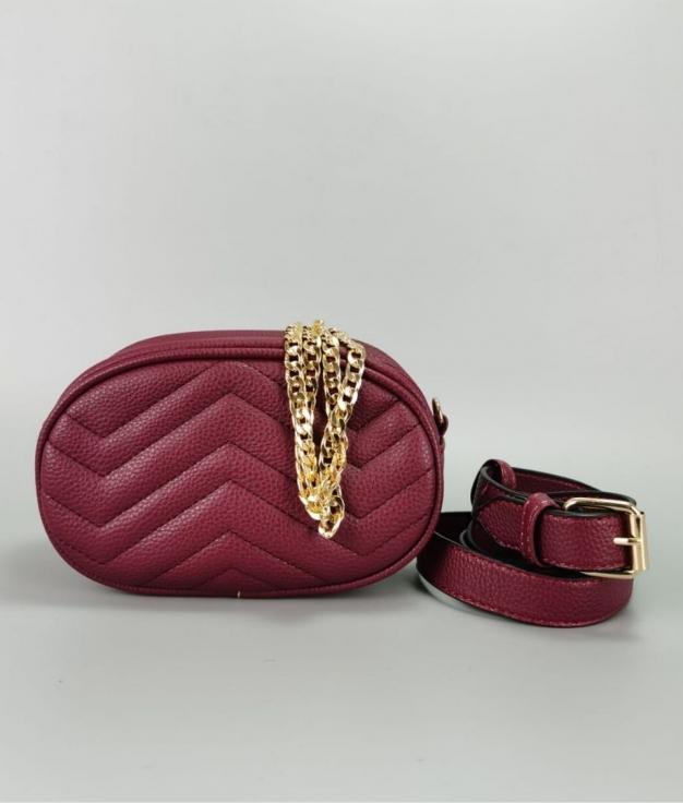 Belt bag Rous - Maroon