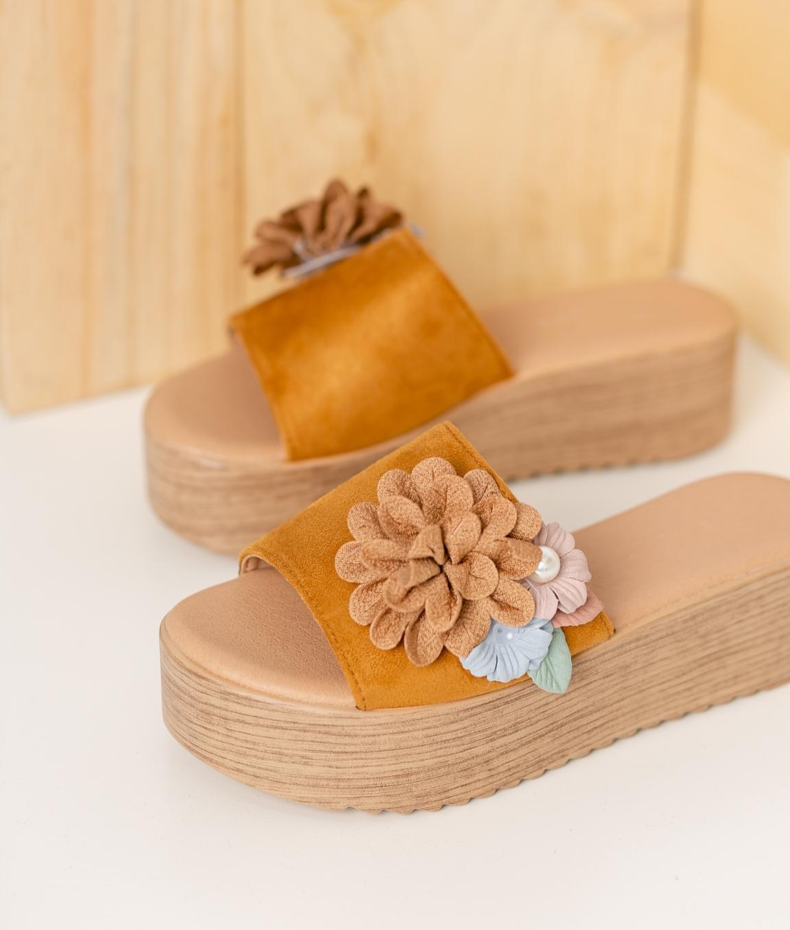 Sandalo Casia - Cammello