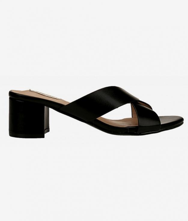 Sandalia de Tacón Wari - negro