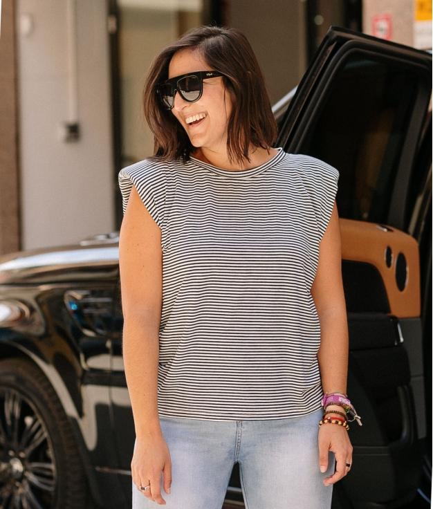 T-Shirt Venice - Shoulder Pads