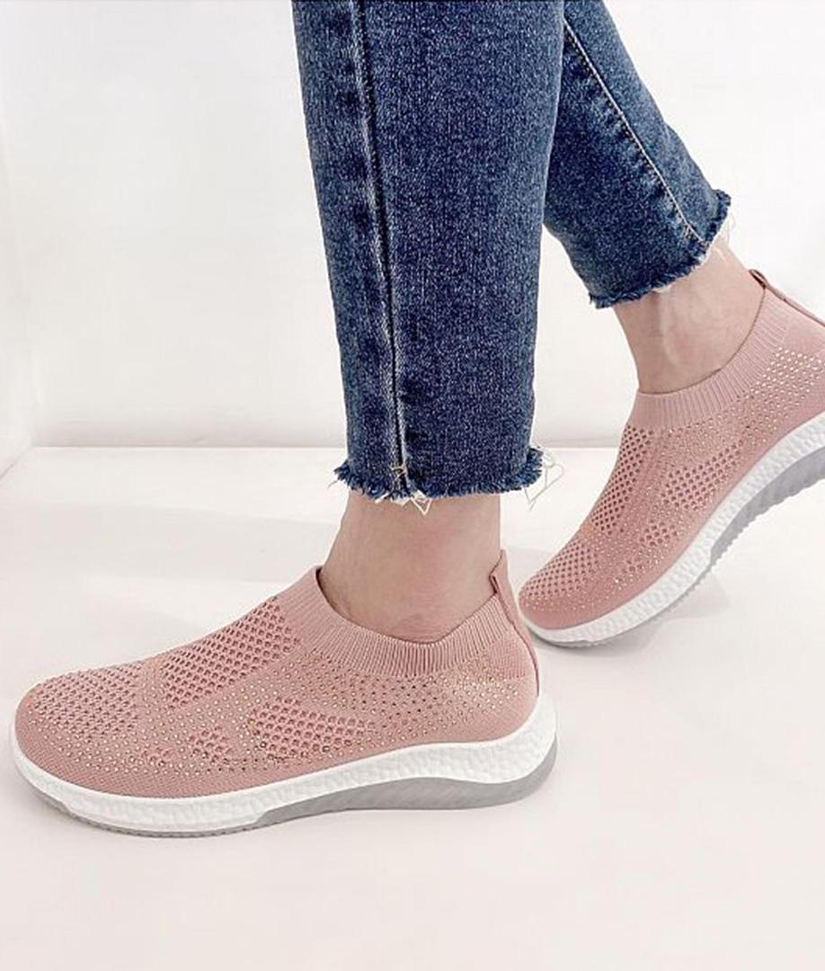 Sneakers Brillantes - Rosa