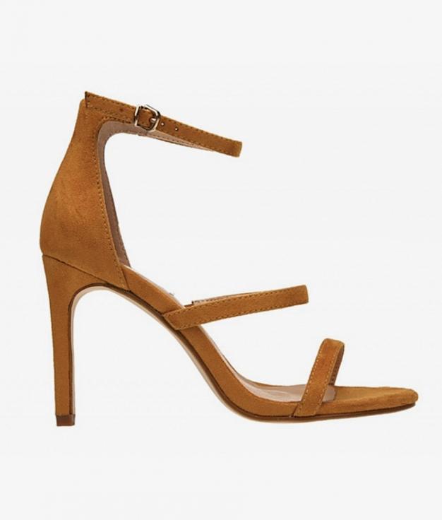 Sandalia de Tacón Carol - Amarillo