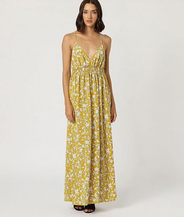Vestido Sarutobi - Yellow