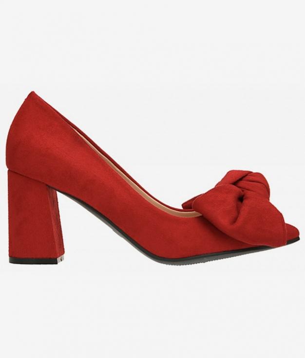 Zapato Lazo - Rojo