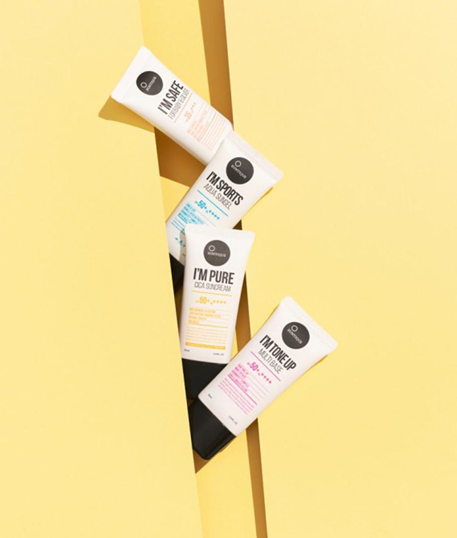 Crème solaire waterproof SPF50 +