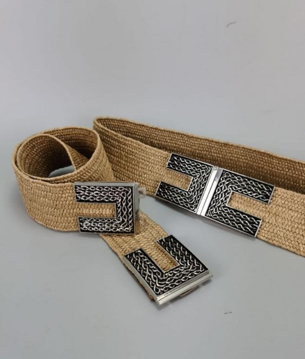 Cinturón Coco - Taupe
