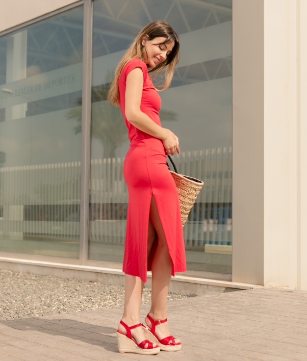 S'habiller Llanes - Liso Rouge