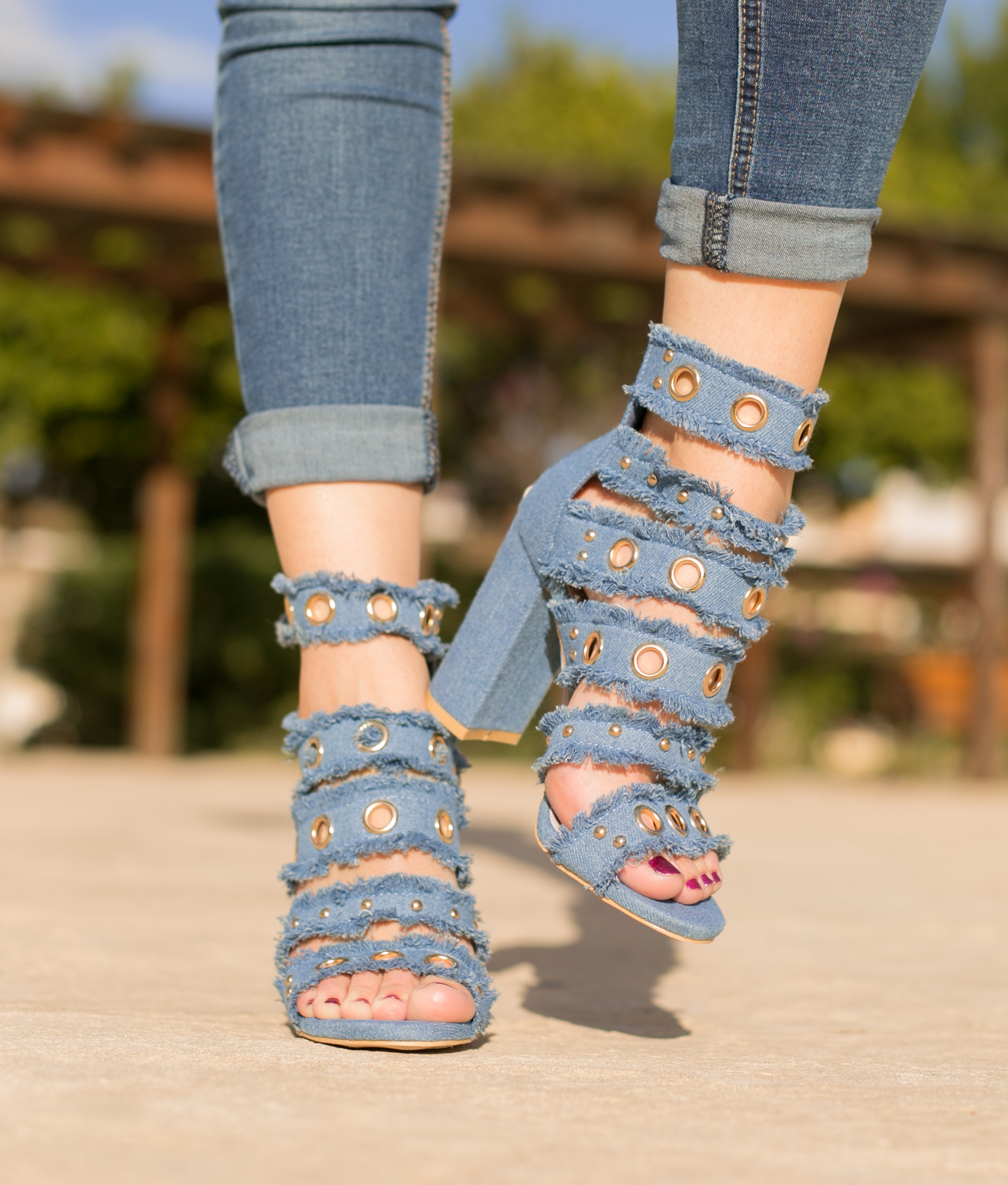 Sandal Calais - Dark Denim