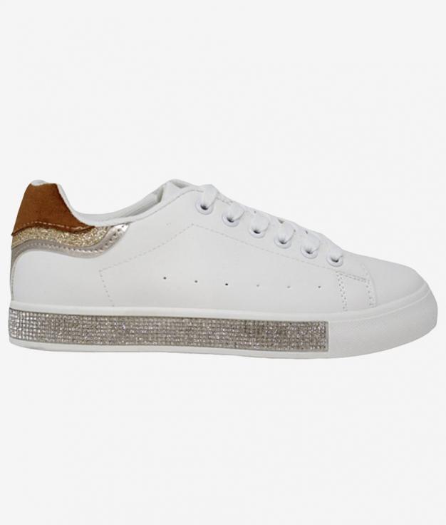 Sneakers Harlem - Camel