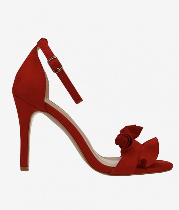 Sandalia de Tacón Triana - Rojo