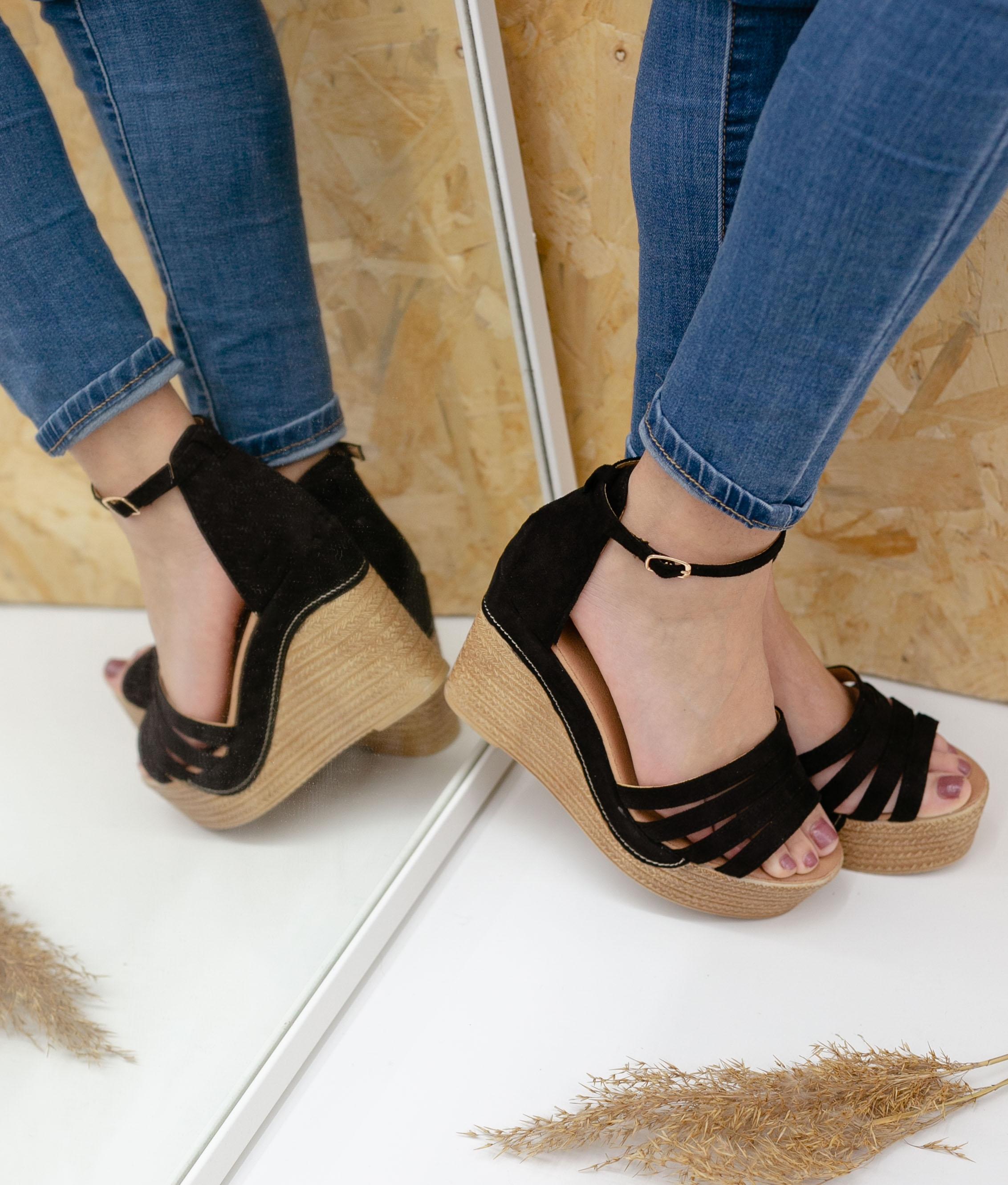 Wedge Heel Kalan - Black