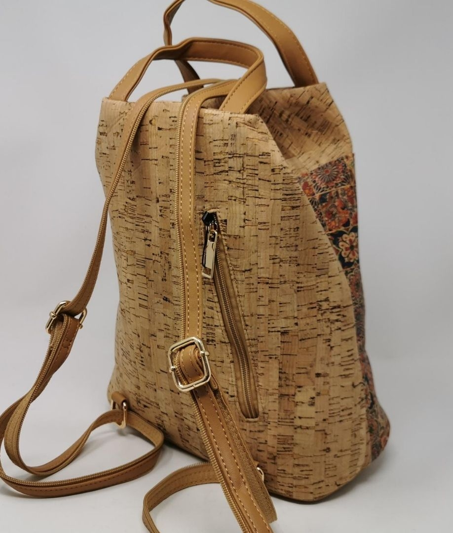 Backpack Cork - Camel
