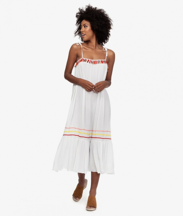 Vestido Bali - Blanco