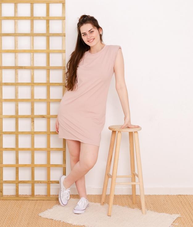Vestido Dimas - Rosa