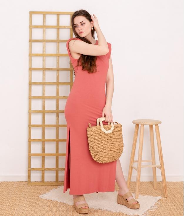 Dress Duna - Coral