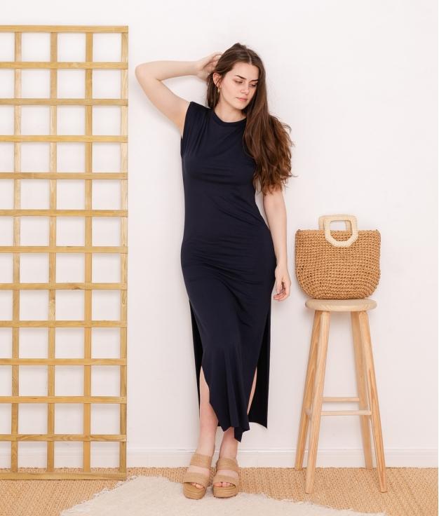 Dress Duna - Dark Blue
