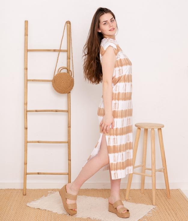 Dress Delia - Camel