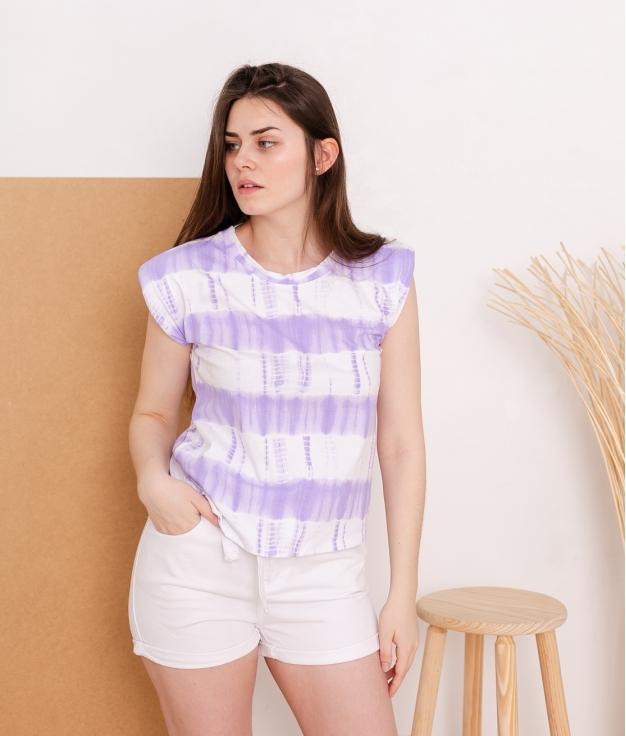 Camiseta Dana - Lillás