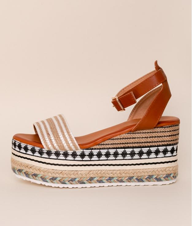 Wedge Heel Narendra - White