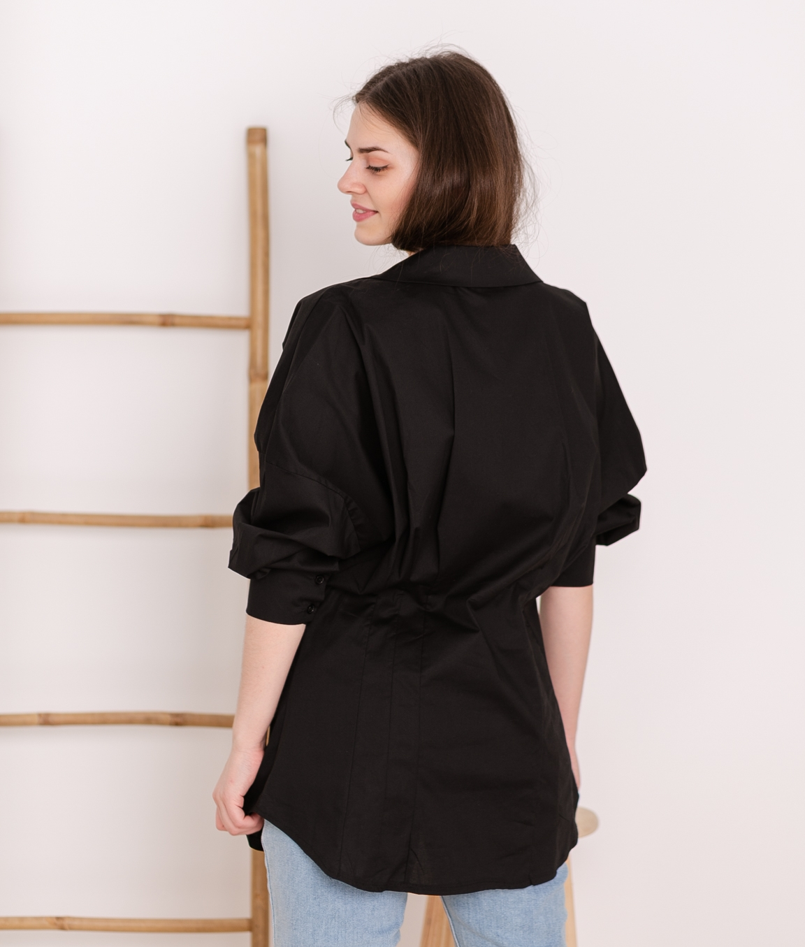 Blouse Onigumo - Black