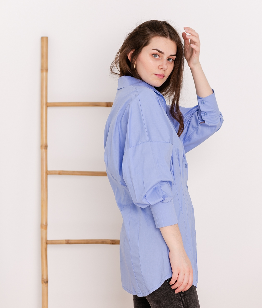Blusa Onigumo - Azul