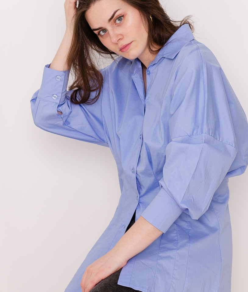 Blouse Onigumo - Blue