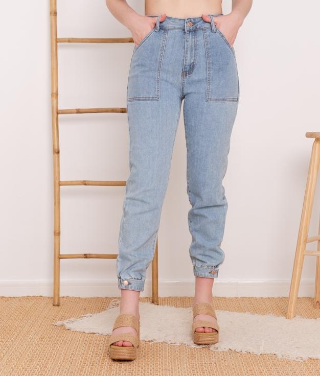 Pantaloni Magallanes - Denim