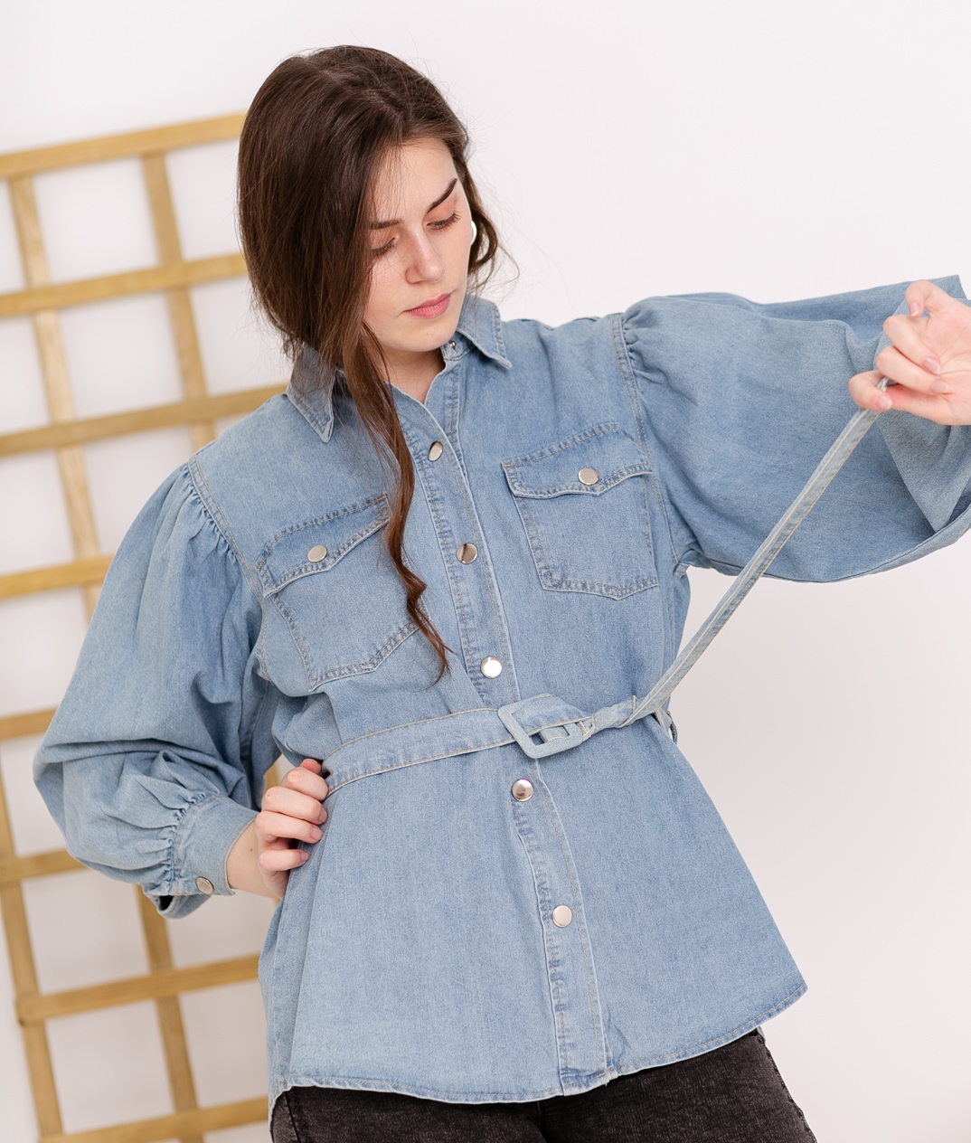 Camisa Masterson - Denim