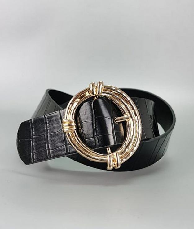 Cinturón Venecia - Negro