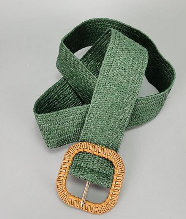 Cinturón Guinea - Verde