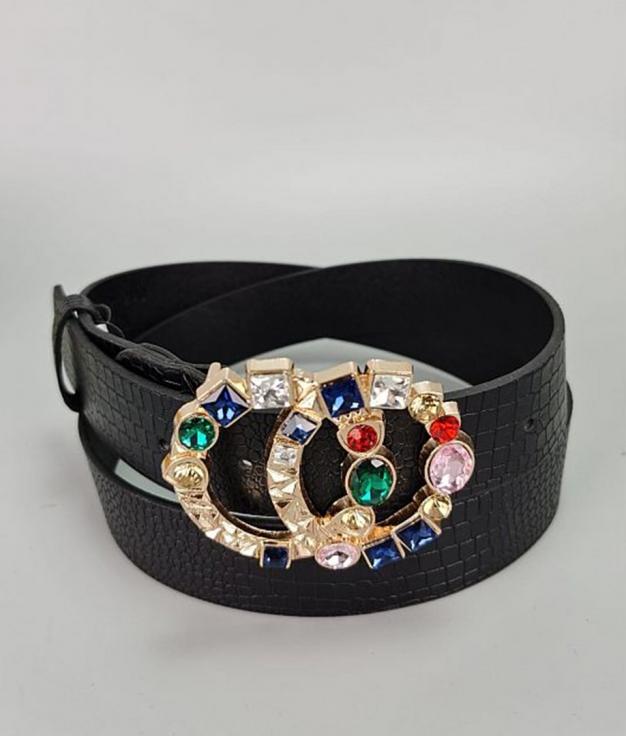 Cinturón Hollywood - Negro