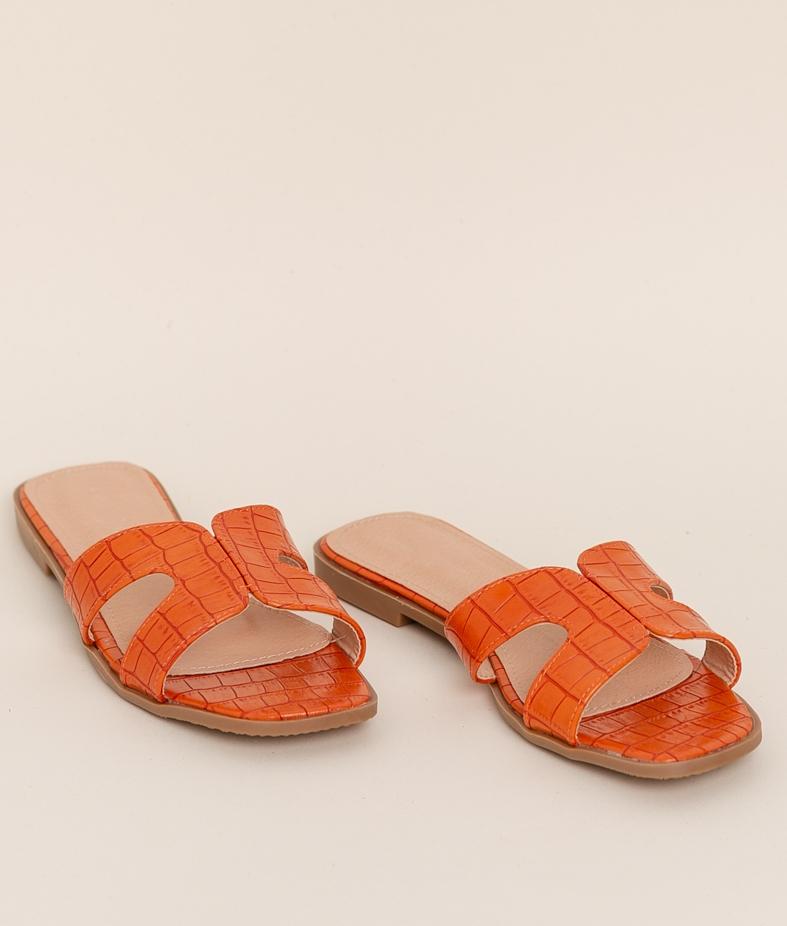 Sandalia Crock - Orange