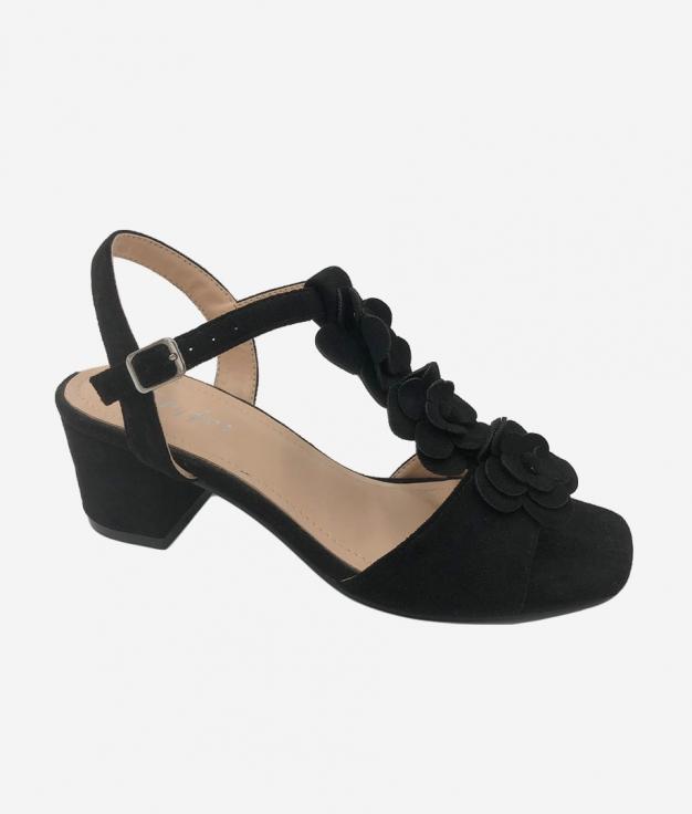 Sandalo Alto Elar - Nero