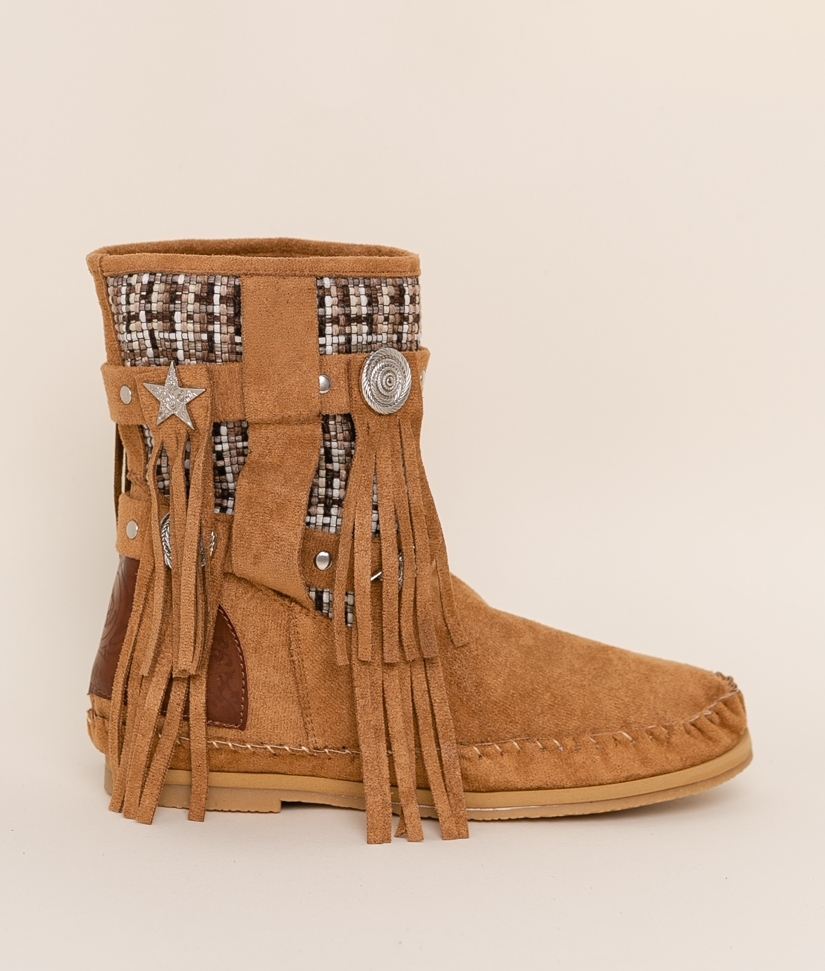 Low Boot Indianini Imari - Camel