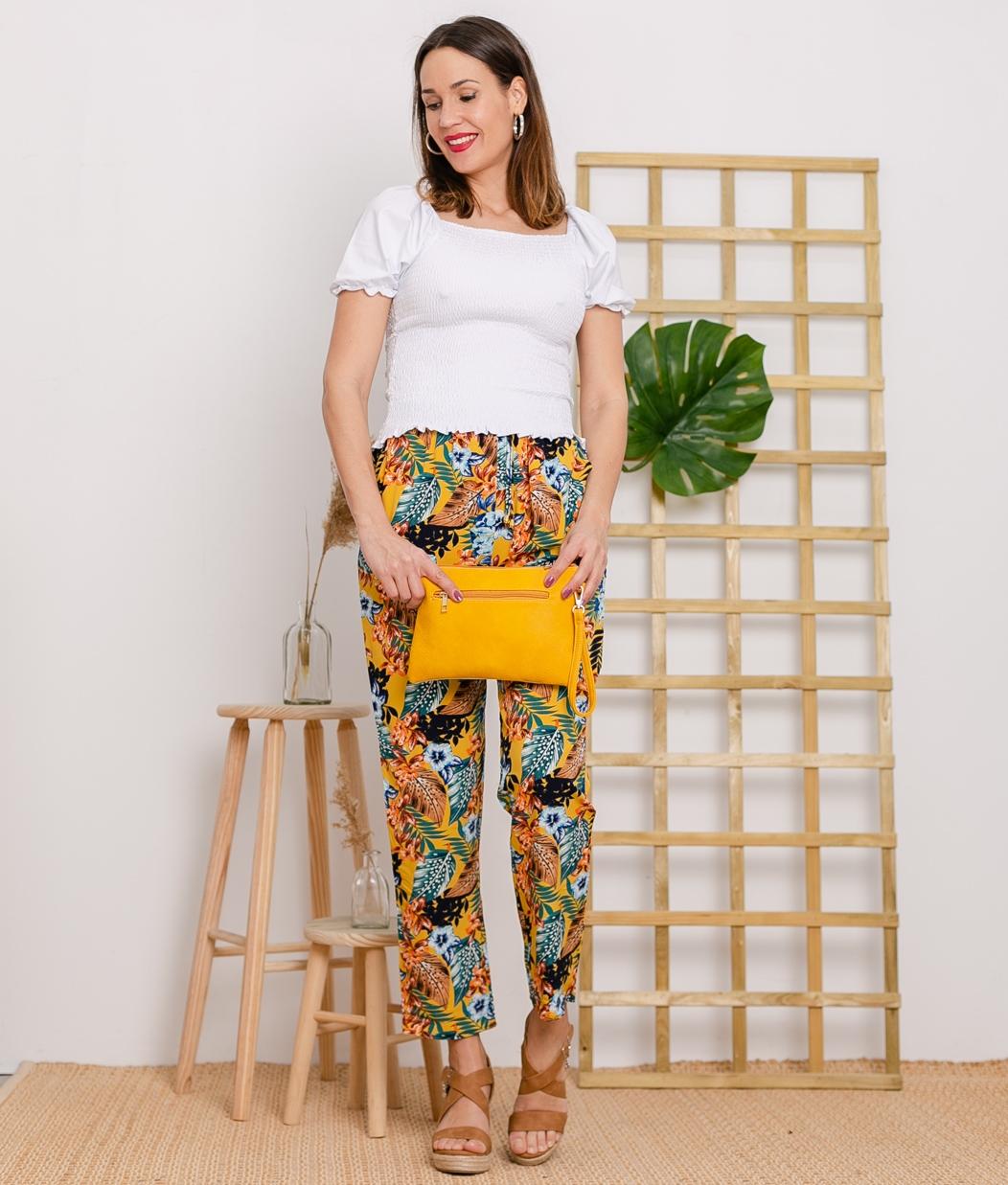 Pantalón Norland - Amarelo