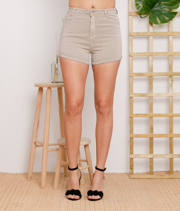 Short Tello - Taupe