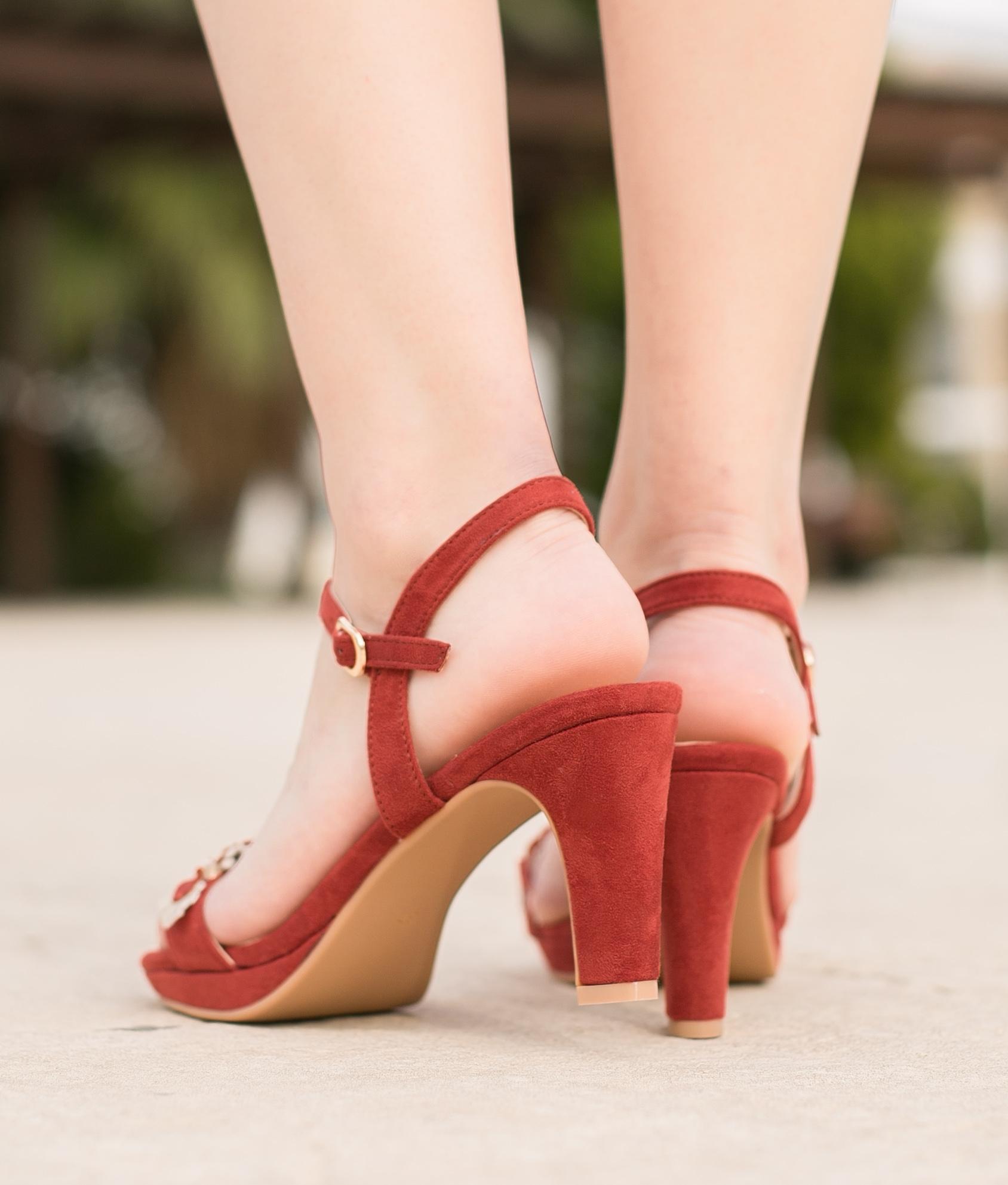 Sandale Camila - Rouge