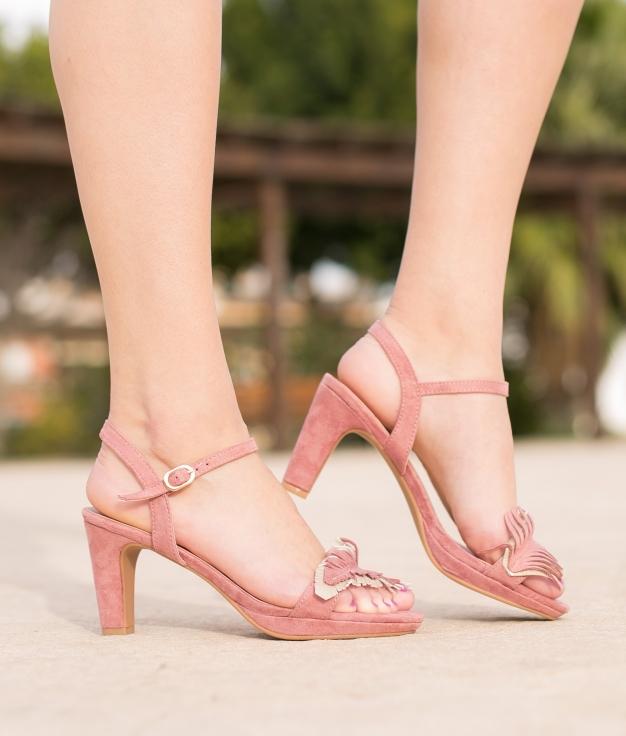 Sandale Apluma - Rose