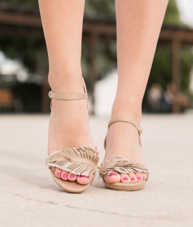 Sandalo Apluma - Taupe