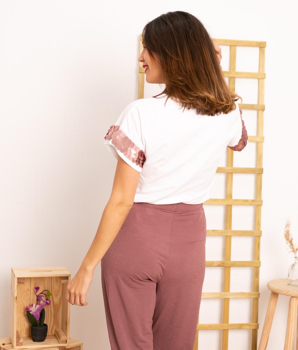 Camiseta Horan - Rosa