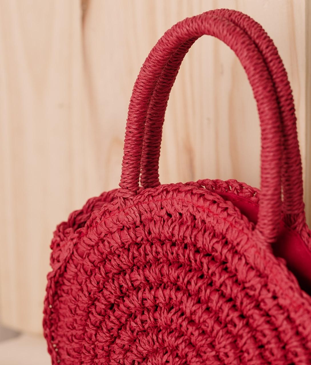 Bolsa Melba - Vermelho