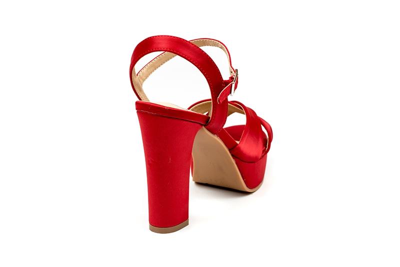 Sandalia Proposición Indecente - Rojo