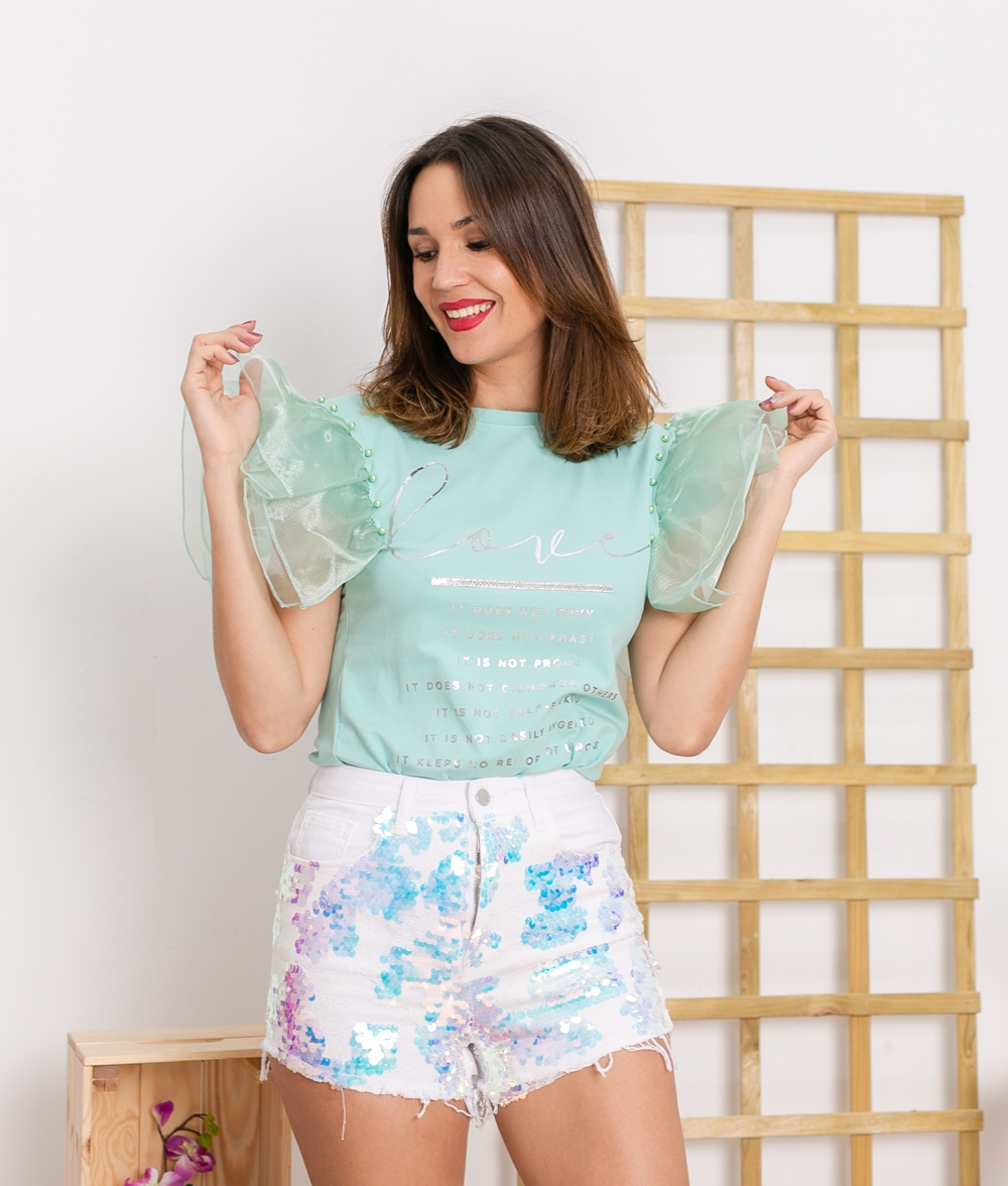 Camiseta Lalaysa - Verde