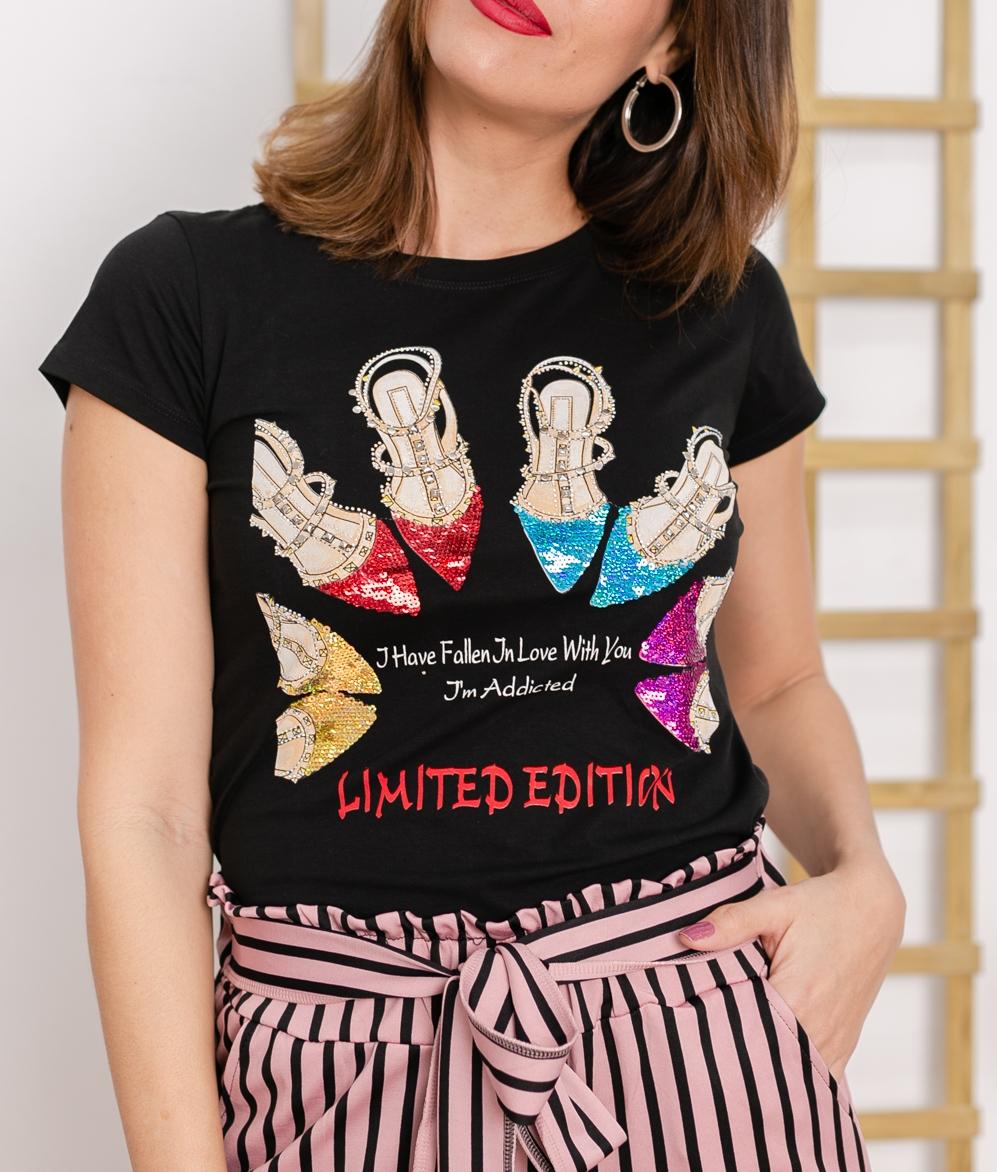 Camicia Dauni - Preto
