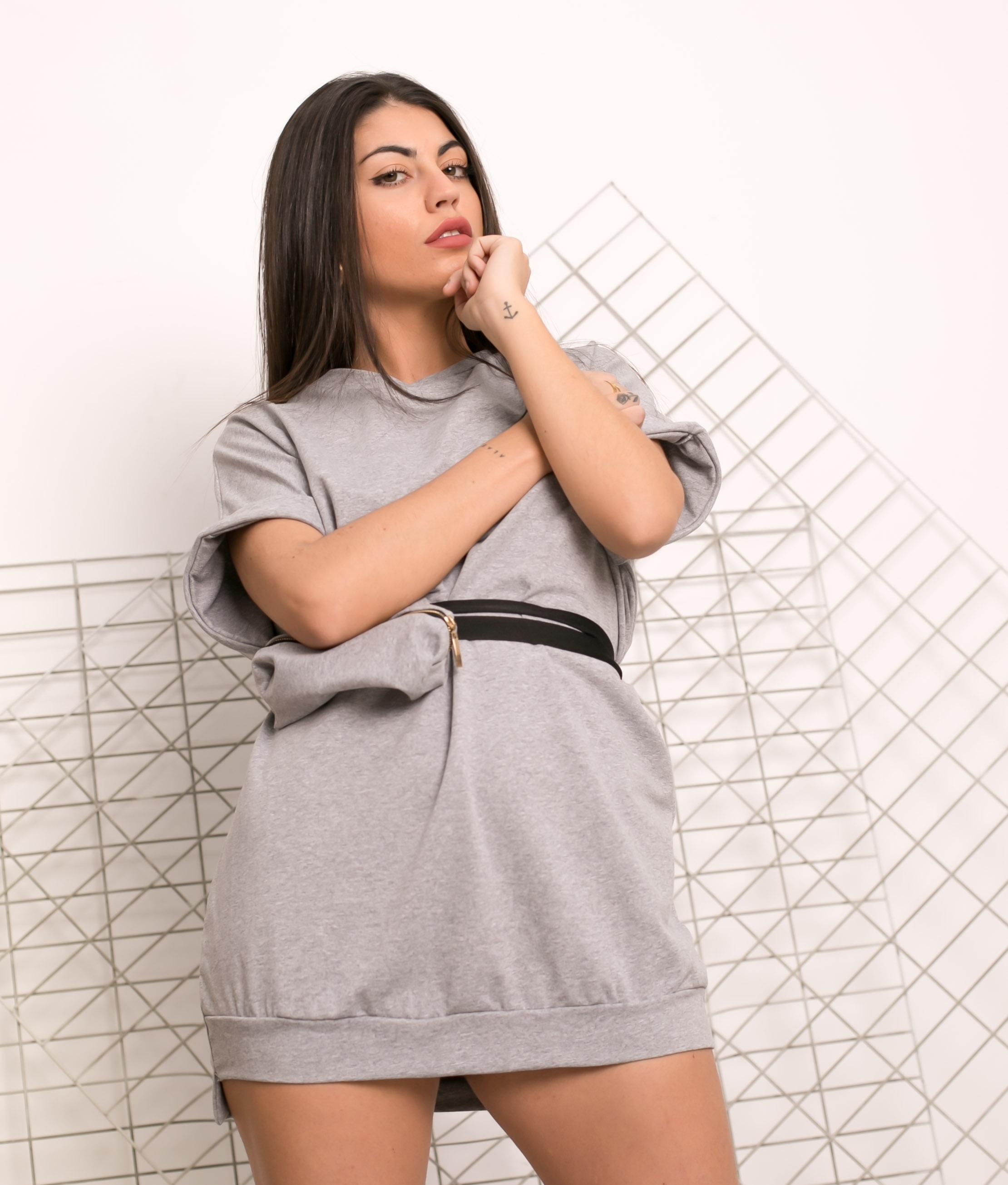 Vestido Yuner - Grey