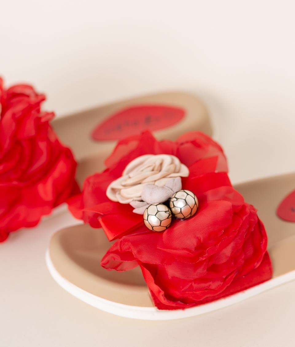 Flat Sandal Rituals - Rojo