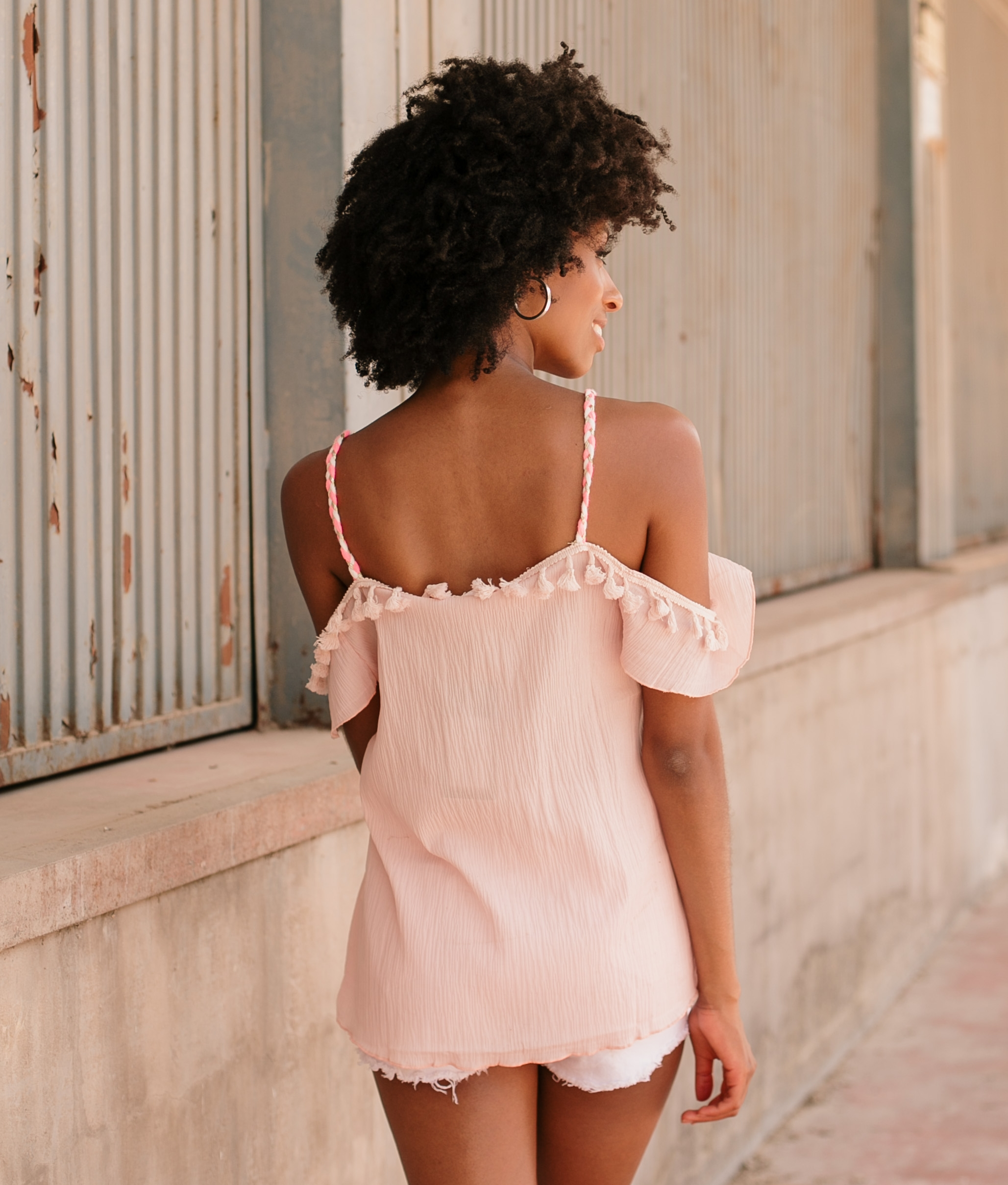 Blouse Riona - Pink