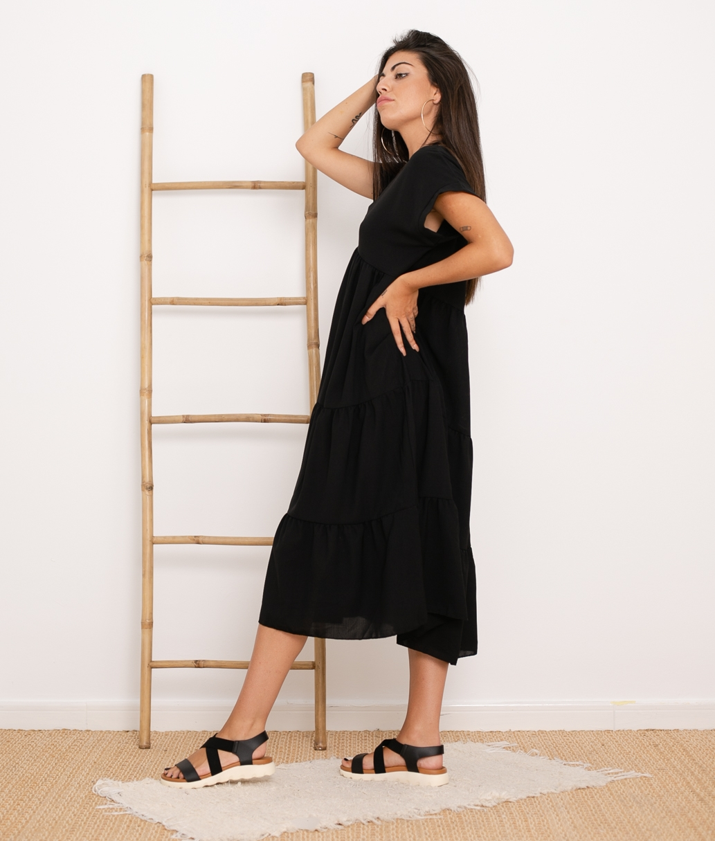 Vestido Criker - Black