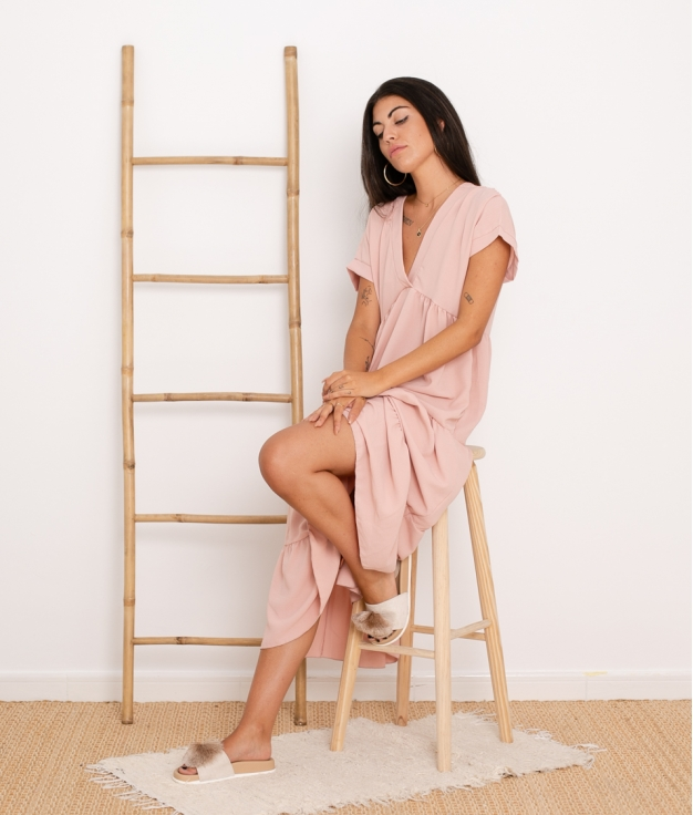 Vestido Criker - Rosa