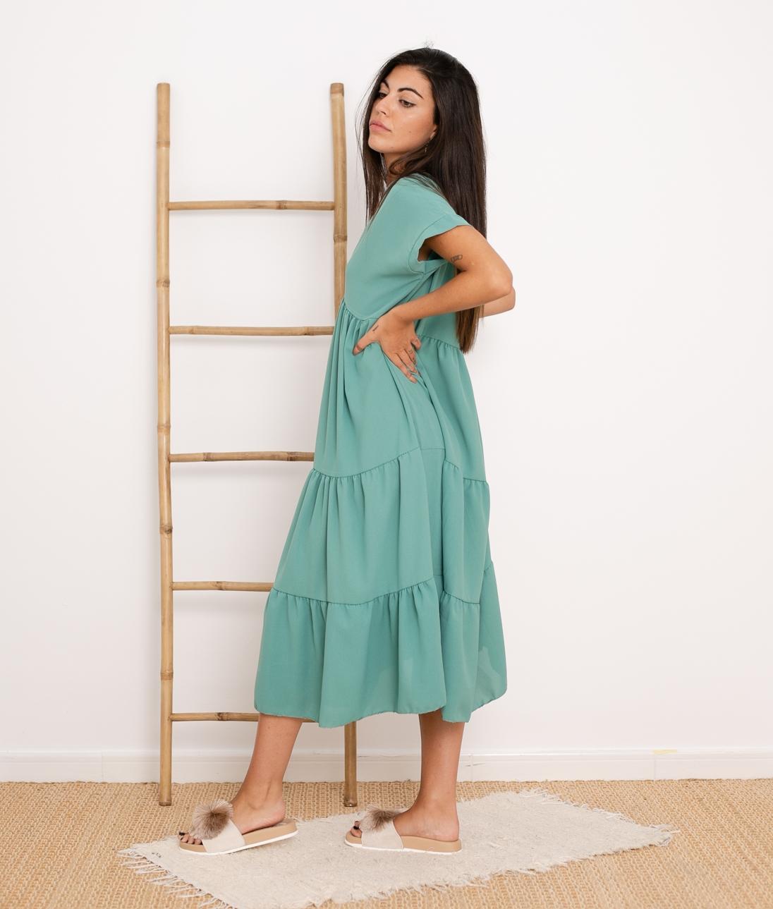 Vestido Criker - Verde